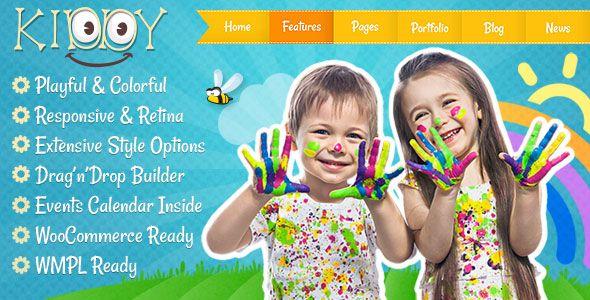 Kiddy v1.1.6 - Children WordPress Theme
