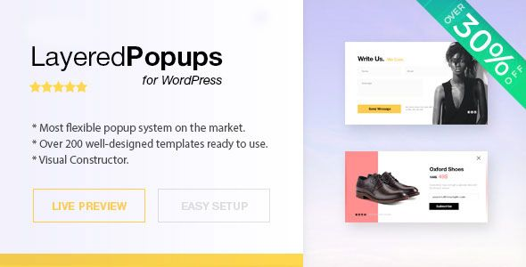Layered Popups for WordPress v6.43