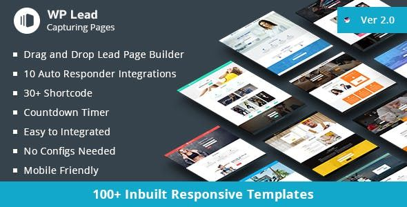WP Lead Capturing Pages v2.1 - WordPress Plugin