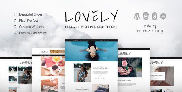 Lovely v1.0.8 - Elegant & Simple Blog Theme
