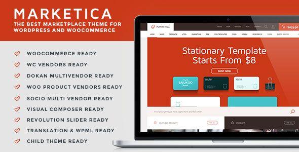 Marketica v4.4.1 - Marketplace WordPress Theme