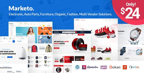 Marketo v1.3.3 - ECommerce & Multivendor Theme