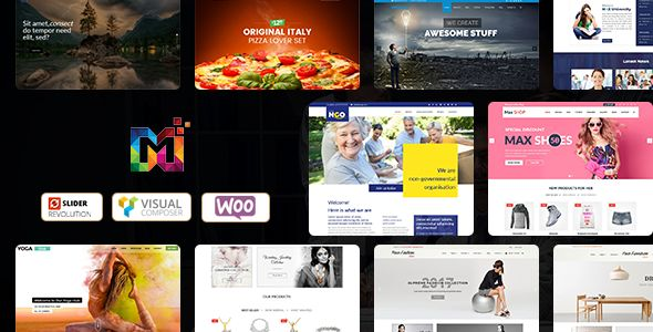 Maximum v5.1 - Multi-Purpose Responsive WordPress Themes