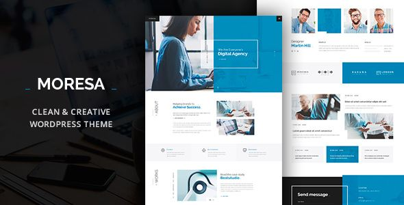 Moresa v1.08 - Business WordPress Theme