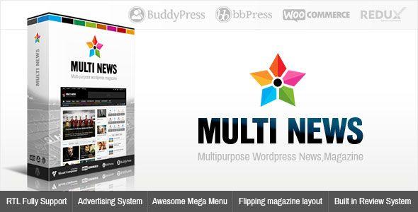 Multinews v2.6.4.1 - Multi-Purpose WordPress News, Magazine
