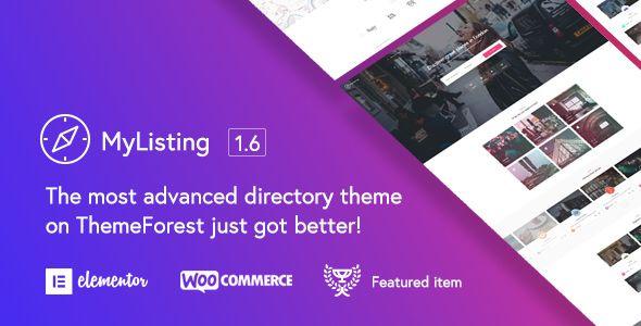 MyListing v1.6.2 - Directory & Listing WordPress Theme