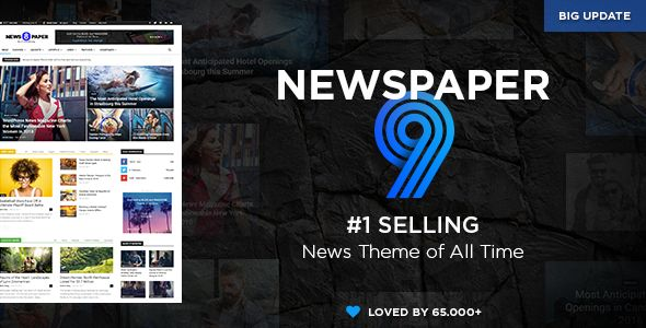 Newspaper v9.5 - WordPress News Theme