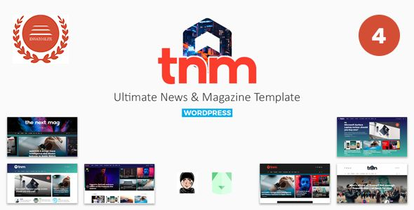 The Next Mag v4.0 - Ultimate Magazine WordPress Theme