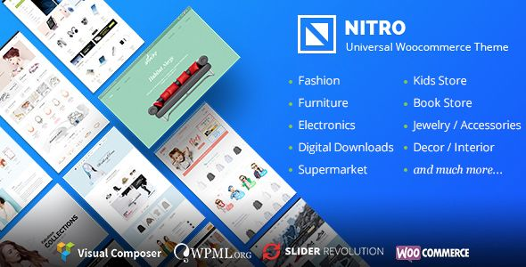 Nitro v1.6.9 - Universal WooCommerce Theme
