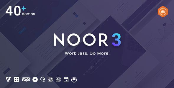 Noor v3.0.0 - Fully Customizable Creative AMP Theme