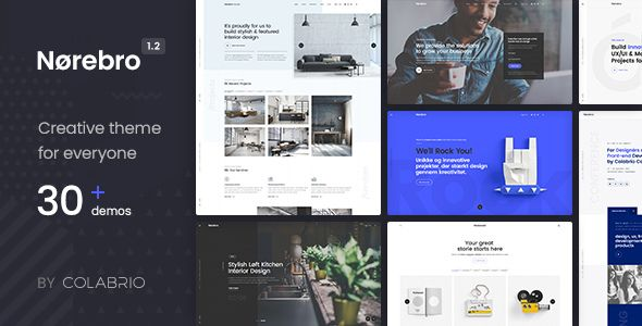 Norebro v1.2.8 - Creative Multipurpose WordPress Theme