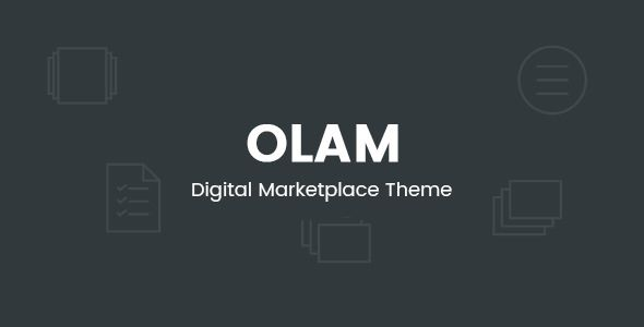 Olam v4.6.1 - WordPress Easy Digital Downloads Theme