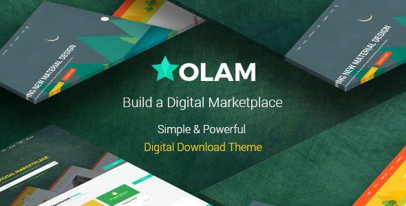 Olam v4.4.0 - WordPress Easy Digital Downloads Theme