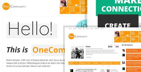 OneCommunity v2.2 - BuddyPress Community LMS Theme