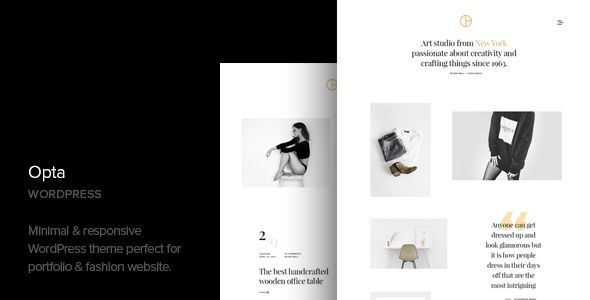 Opta v1.2 - Minimal Portfolio And Photography Theme