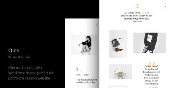 Opta v1.2 - Minimal Portfolio And Photography Theme