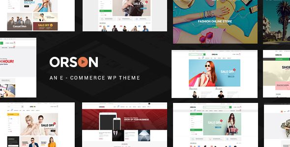 Orson v2.4 - Innovative Ecommerce WordPress Theme