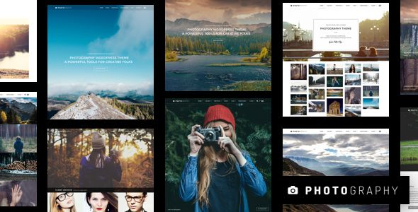 Photography v4.8.1 - Responsive Photography Theme
