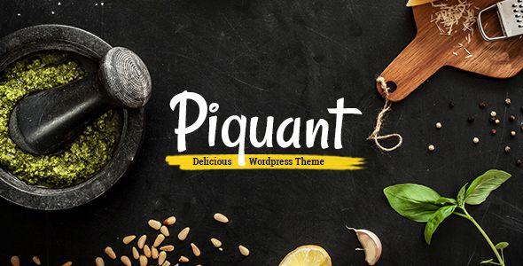 Piquant v1.1.1 - A Restaurant, Bar And Café Theme