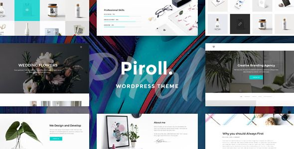 Piroll v1.0 - Portfolio WordPress Theme