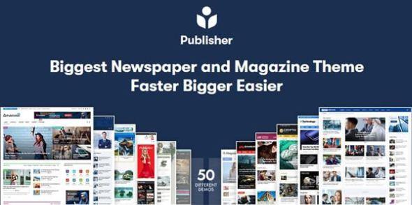 Publisher v7.5.1 - Newspaper Magazine AMP