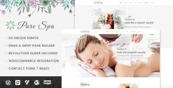 Pure v1.0.2 - Spa & Beauty Responsive WordPress Theme
