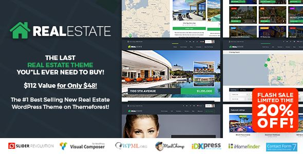 WP Pro Real Estate 7 v2.8.1 - Responsive Real Estate Theme