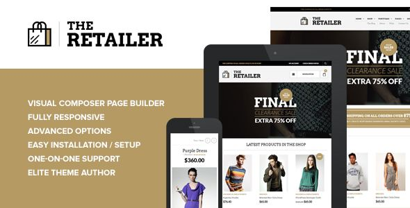 The Retailer v2.9.2 - Responsive WordPress Theme