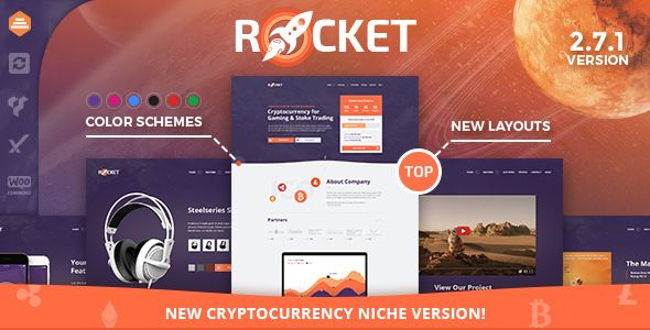 Rocket v2.7.6 - Creative Multipurpose WordPress Theme