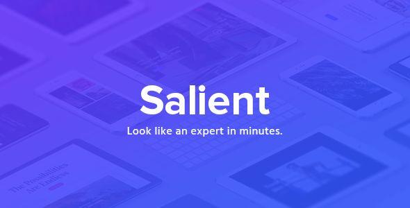 Salient v9.0.1 - Responsive Multi-Purpose Theme