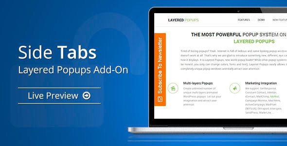 Side Tabs v1.4.8 – Layered Popups Add-On