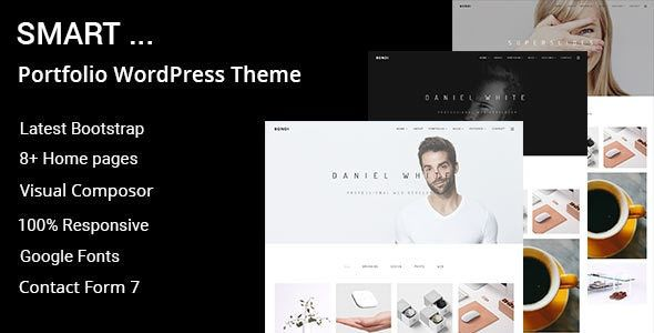 Smart v1.0.0 - Minimal Portfolio WordPress Theme