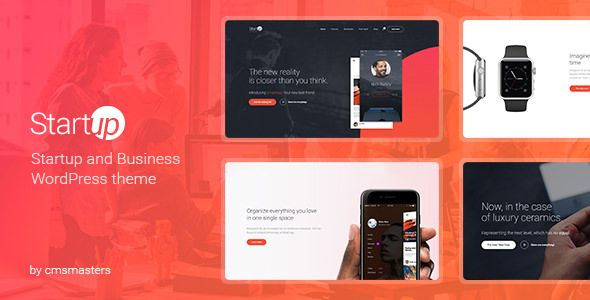 Startup Company v1.0.5 - Theme For Business & Technology