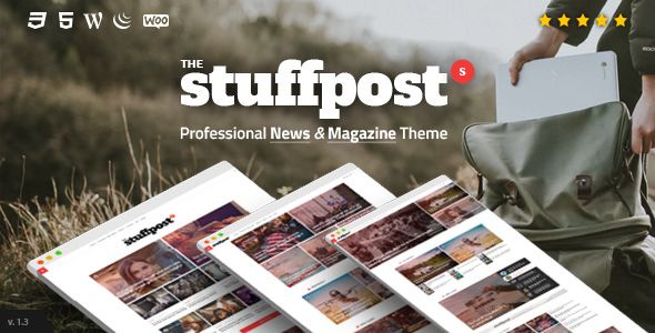 StuffPost v1.2.5 - Professional News & Magazine Theme