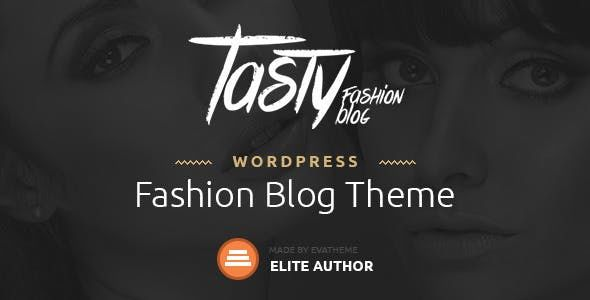Tasty v1.1 - Responsive Blog WordPress Theme