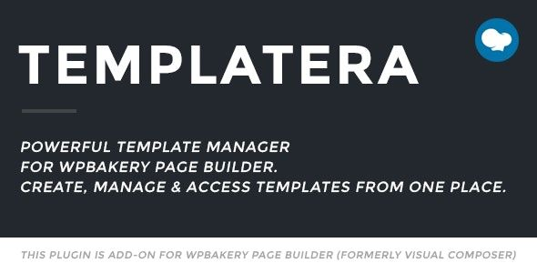 Templatera v2.0.3 - Template Manager For WPBakery Page Builder