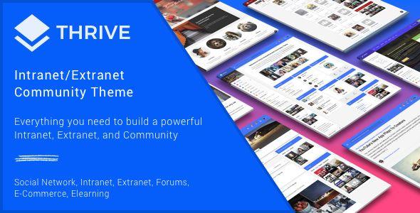 Thrive v3.0.9.1 - Intranet & Community WordPress Theme