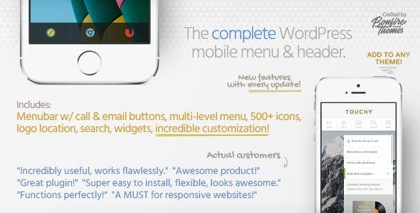 Touchy v3.3 - WordPress Mobile Menu Plugin