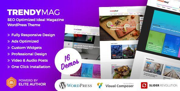 TrendyMag v1.1 - WordPress News Magazine & Blog Theme