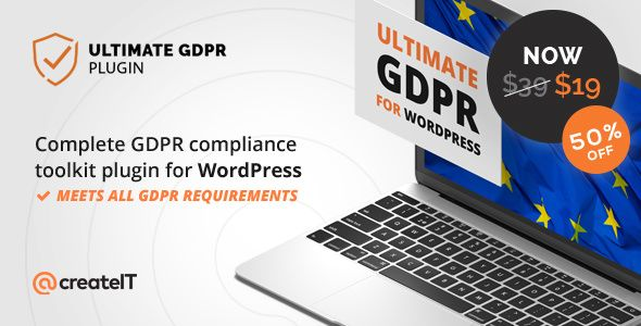 Ultimate GDPR v1.7.2 - Compliance Toolkit For WordPress