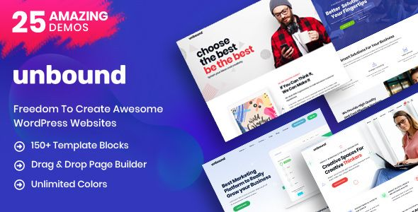 Unbound v1.1.2 - Business Agency Multipurpose Theme
