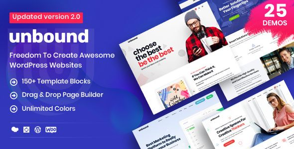 Unbound v2.0.0 - Business Agency Multipurpose Theme