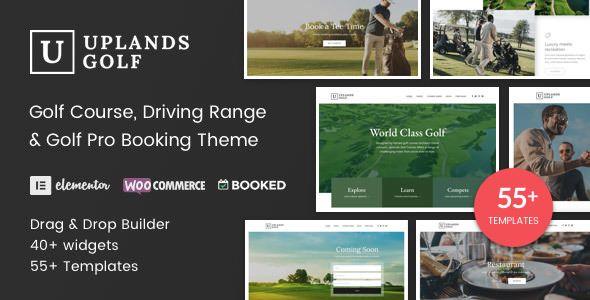 Uplands v1.3.1 - Golf Course WordPress Theme