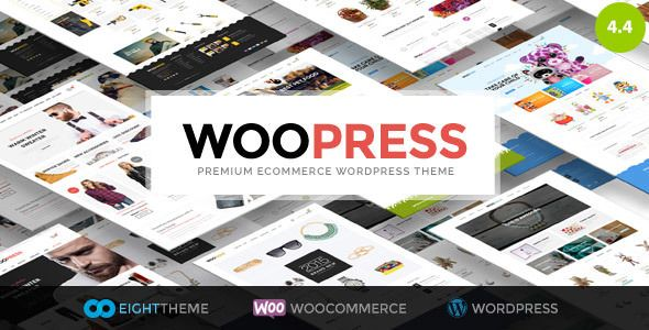 WooPress v4.4 - Responsive Ecommerce WordPress Theme