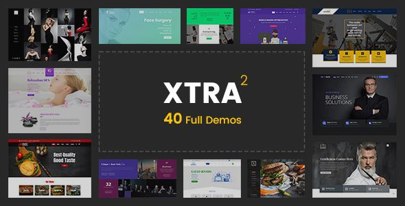 XTRA v2.1 - Multipurpose WordPress Theme + RTL