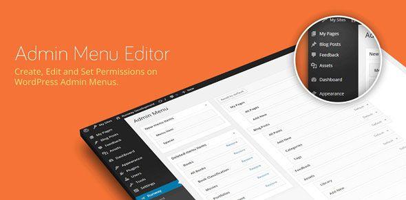 Admin Menu Editor Pro v2.8