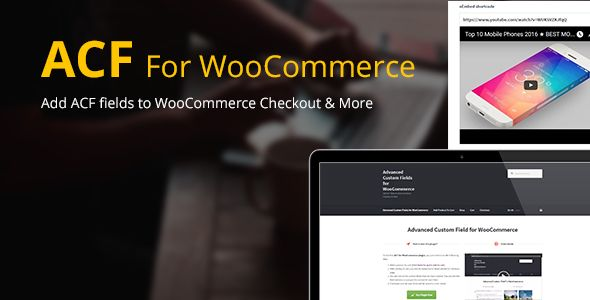 Advanced Custom Fields For WooCommerce v3.8.6