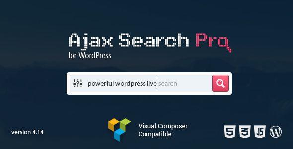 Ajax Search Pro For WordPress v4.14 - Live Search Plugin