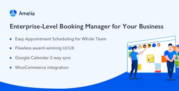 Amelia v1.4.4 - Enterprise-Level Appointment Booking