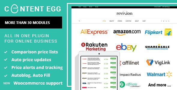 Content Egg v4.9.8 - All In One Plugin For Affiliate
